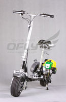 2013 NEW 49CC Foldable Gas Scooter big wheel scooter for sale