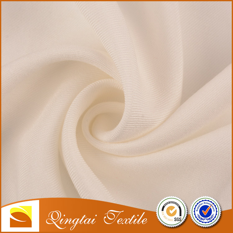 China Wholesale Supplier 100% rayon crepe twill fabric for lady garment