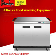 Brandon reliable two doors commercial electric food warmer cabinet