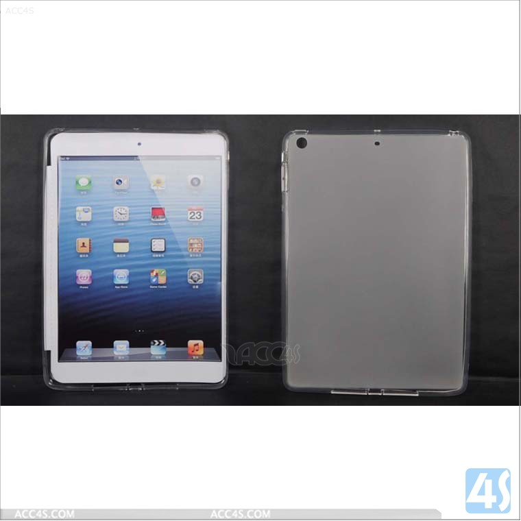 Matted tpu gel cover case for ipad 5/ipad air P-iPAD5TPU006