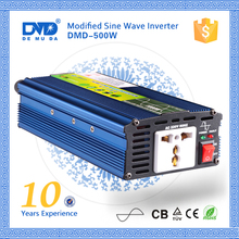 Off grid dc to ac power inverter 12v 220v 500w ups pure sine wave inverter