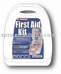 Aid Plus-All Purpose First Aid Kit 91 pieces