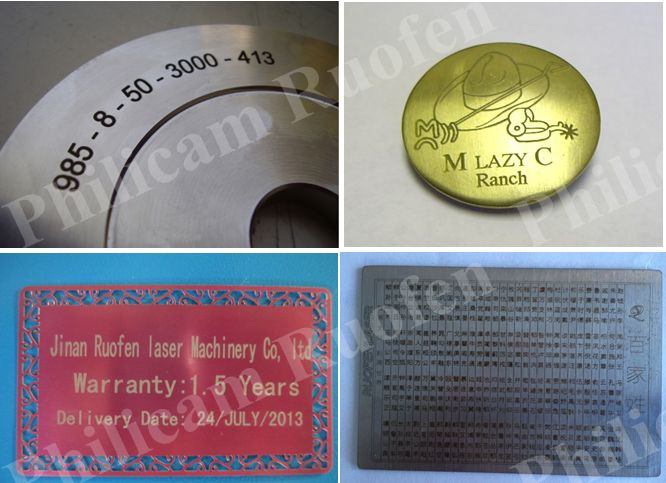 Philicam gold chain laser marking machine for sale