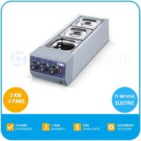 Chocolate Melters - Electric - 4 Pans, 3 KW, TT-WE1415C