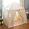 Ninghai manufacture wholesale soft fabric kids playhouse kids bed tent