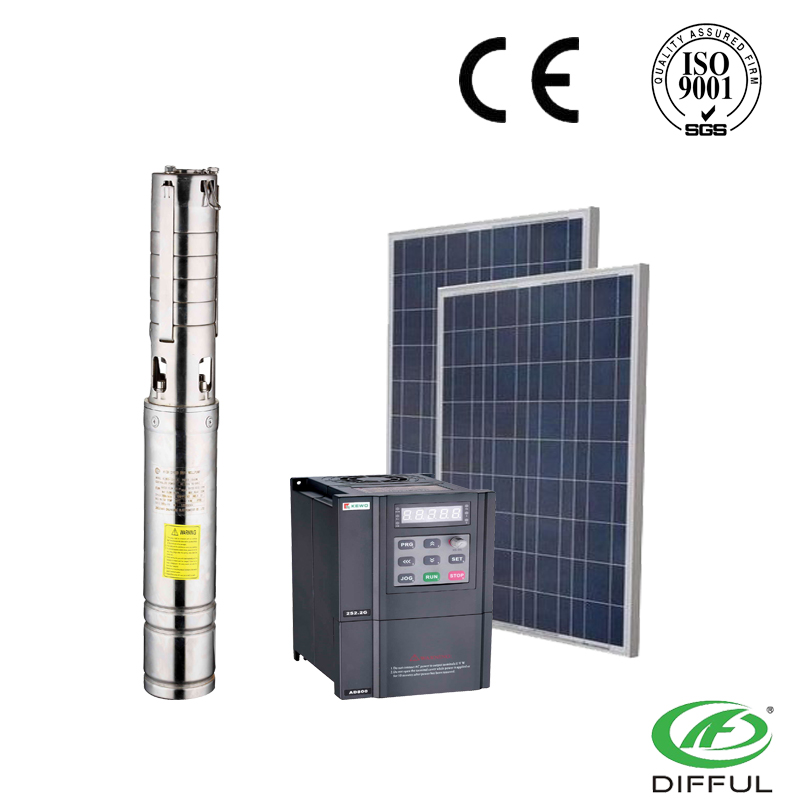 high head solar water pump 4ssw series electric water pump