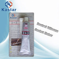 Kater strong adhesion rtv silicone sealant clear for air compressor