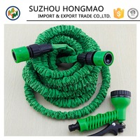 High pressure expandable flexible garden water hose used for car washing/ for garden