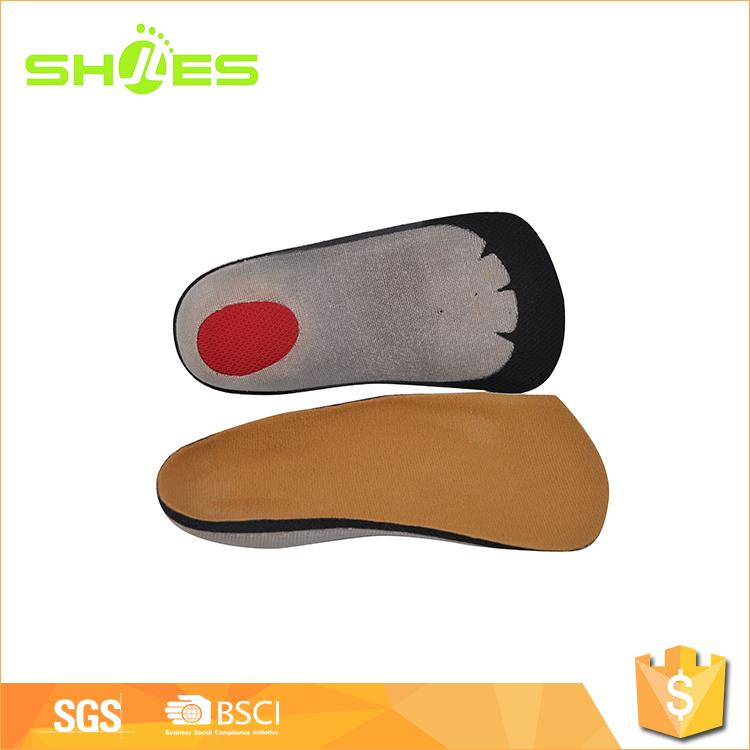Factory price leather hot melted pad shoe insoles for sale