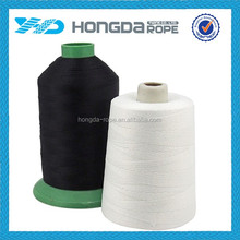 Mult-color Bonded nylon reflective sewing thread
