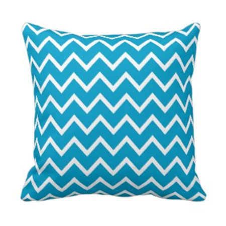 high quality chevron design chair/sofa decorative throw pillow case digital printing linen wholesale cushion cover