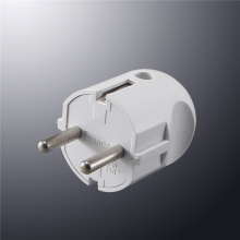 High Quality France Euro Schuko Plug Travel Adapter