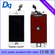 Broken cell phone of sales, mobile phone LCD touch screen for iphone 5s