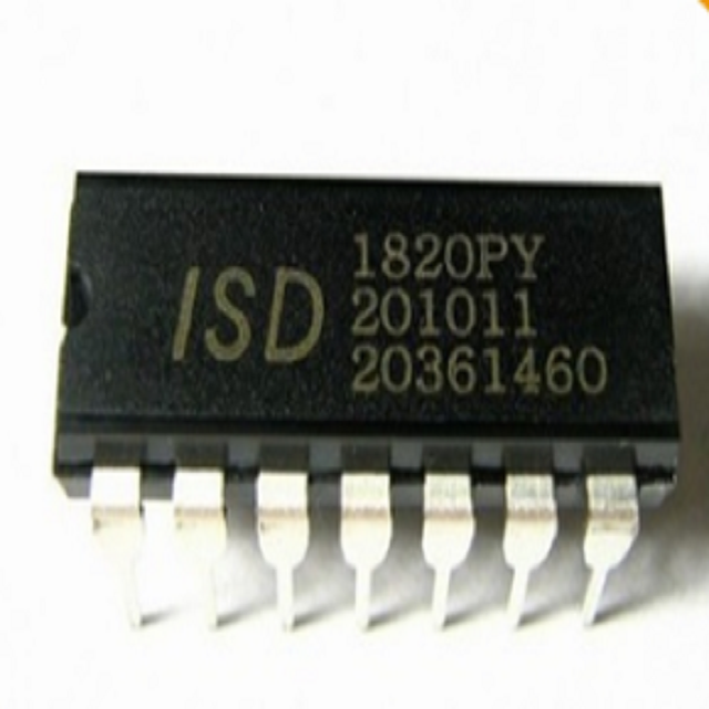 ISD1820 Dip-14 Chip 8-20S Develope DIY Neue IC ISD1820PY ISD 1820 1820PY