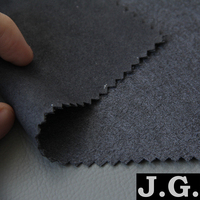 micro fiber synthetic suede leather for men's and women's shoe, boots, clothing, bag, dress, jacket, home textile