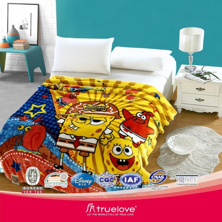 Korean style one and two ply blanket factory comfortable bed sheet Hot sale all over the world