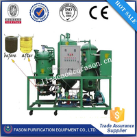 Change black oil to yellow technology filter-free cooking oil filtration machine