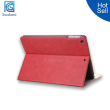 Luxury Leather Case for iPad 5,Folding Standing Case for iPad Air