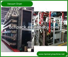 China 3000*6000mm low temperature leather vacuum dryer