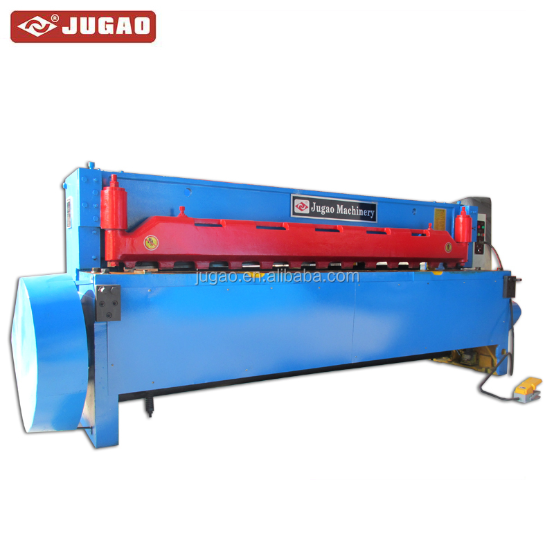JG11D model electrical guillotine metal steel stainless sheet cutting exceptional mechanical shearing machine