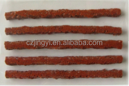 Brown Motorcycle Tubeless Tyre Repair Seals Rubber Strip