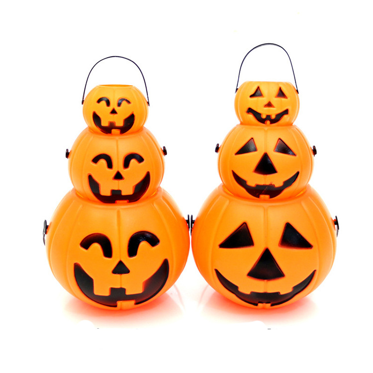 Halloween decorations hand held lanterns pumpkin lights