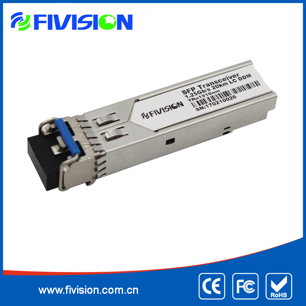 hot sell Cisco compatible 1.25G SFP GLC-LH-SM 1310nm 10KM transceivers receivers
