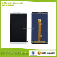LCD Screen With Digitizer For HUAWEI Mate 7 LCD with Digitizer Assembly Replacement Parts