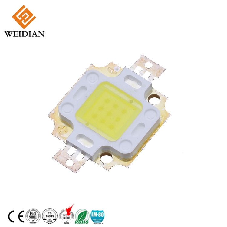 Factory hot sales high power 350ma 10w led cob light efficacy led diode
