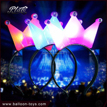 Kids Girl Hair Accessories LED Light Up Headband Princess Tiaras Crown for Party