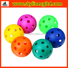 wholesale PE Wiffle Ball/Practise ball/Trainning pickleball