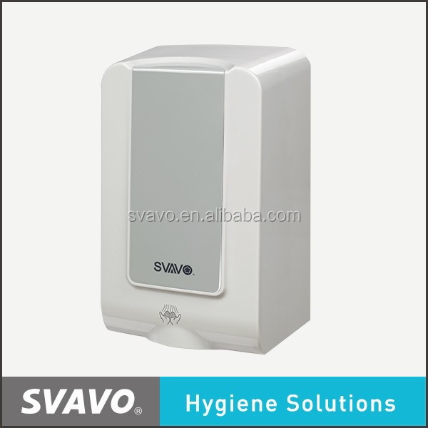 Wall Mounted Automatic Sensor Hand Dryer With Cool And Warm Wind Switch