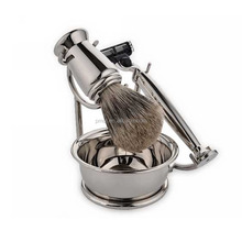 Baoli personalized latest deluxe shaving brush set for men shaving