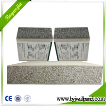 100mm eps cement sandwich wall panel for prefab house prefabricated villa