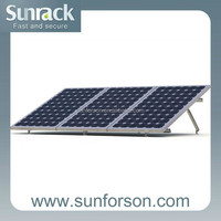 solar roof mounting racks for pv module