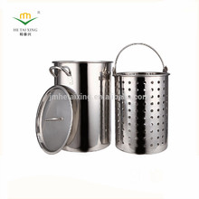 Multifunction Commercial Stainless Steel Turkey Frying Pot for Commercial Kitchens