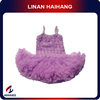 2014 hot fashion spaghetti strap purple wholesale children clothing usa