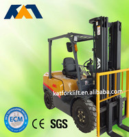 New apperance 2ton gasoline forklift truck with Nissan engine,mini truck for sale