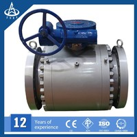 Natural gas pipeline Flange End Floating Electrc Ball Valve