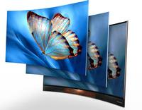 100inch 3D smart 4K android curved led tv