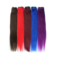 Hair Weave Raw Natural Color #2, Charming Woman Brown Brazilian Hair