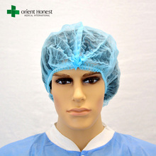 nonwoven disposable surgical scrub caps bouffant cap