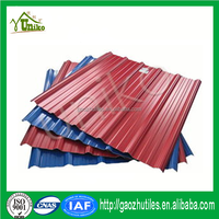 pvc plastic roofing/quality anti corrosive pvc roofing tiles
