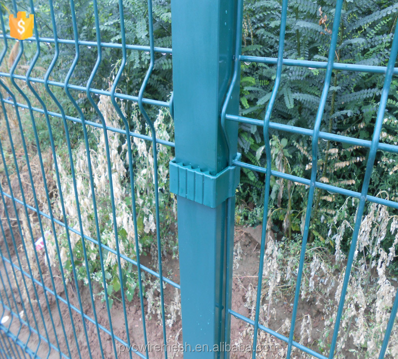 High Quality Welded Wire Mesh For 3d Curvy Square Fence Panels - Buy ...