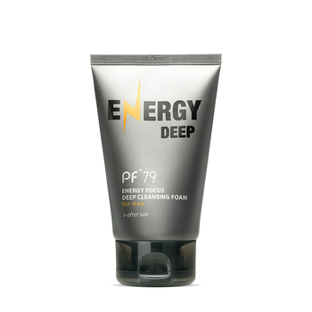 Pf 79 Acne Face Wash Cleanser Energy Focus Deep facial cleanser โฟมสำหรับชาย