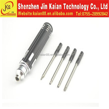 JKA new product screw driver for rc cars.helicopter, tools kit ,hexgon key hand tools