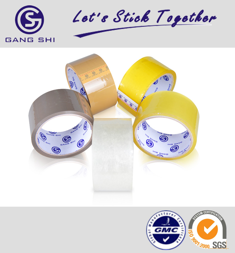 19 years experiences 40mic x 48mm clear BOPP packing tape as carton seal tool with SGS approved