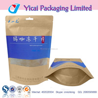 hot sealed multilayer potato chips stand up pouch