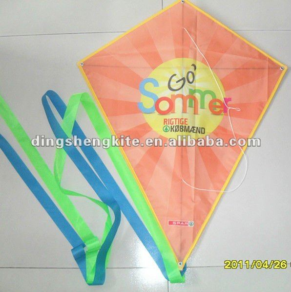 advertising diamond kite promotional kites logo printing kites