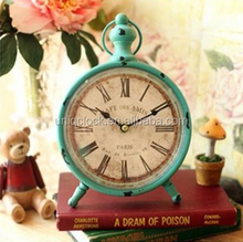 Antique metal table time clocks decorative